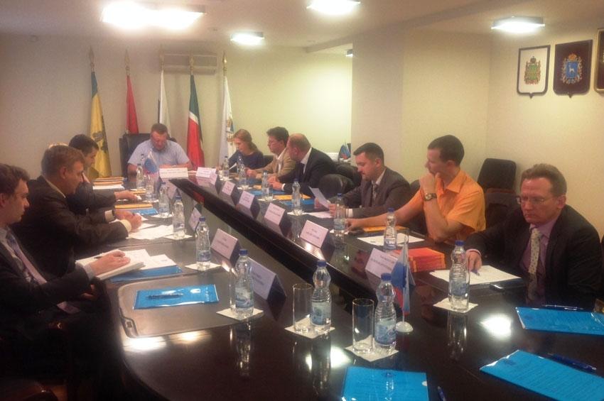 Заседание Совета Самарского отделения